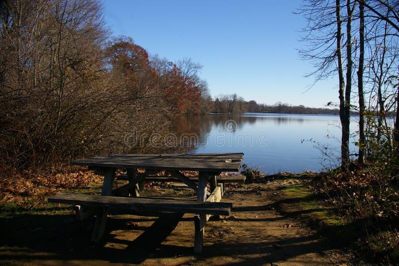 положение мемориального парка озера стоковое изображение rf