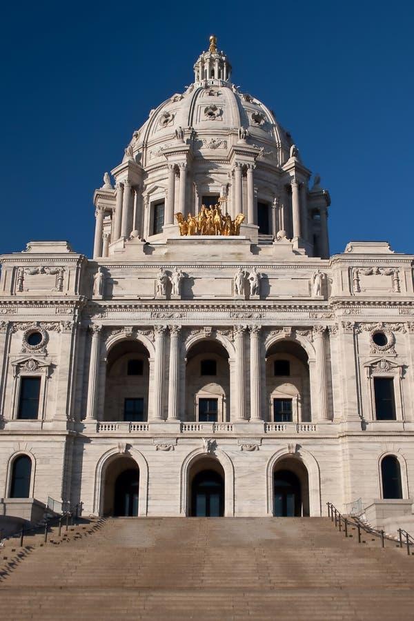 положение Минесоты капитолия здания стоковое изображение rf