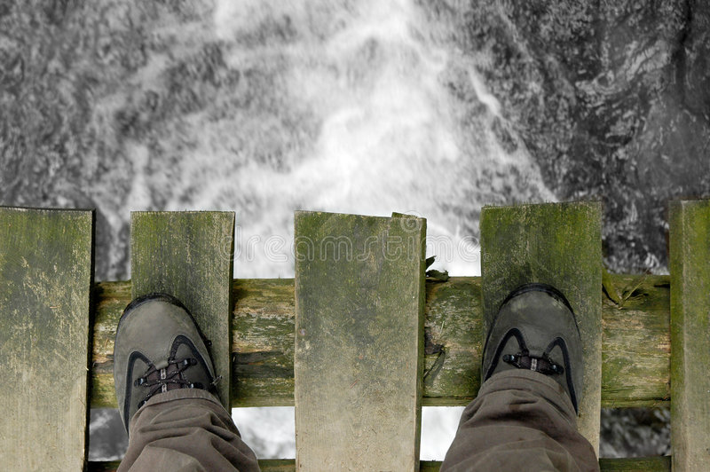положение моста стоковое изображение