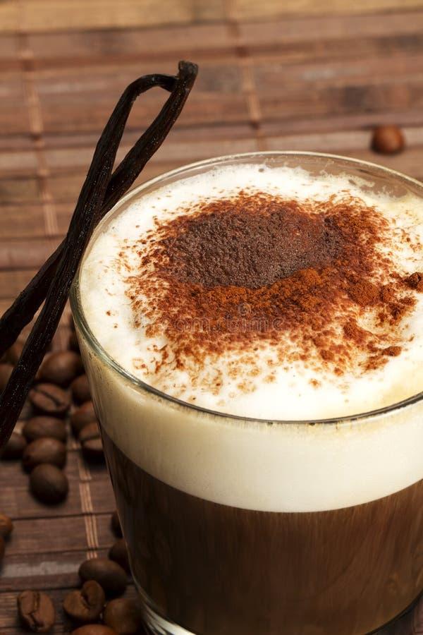 положение порошка молока froth кофе какао стоковая фотография rf