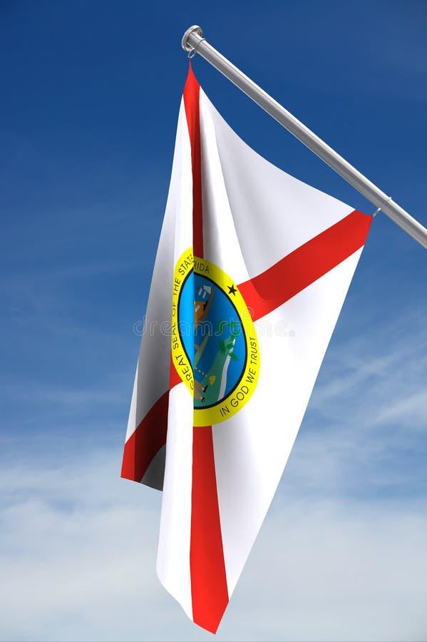 положение США florida флага бесплатная иллюстрация