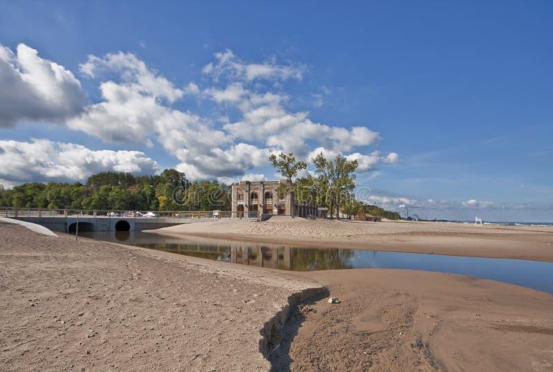 положение pavillion парка дюн стоковое изображение