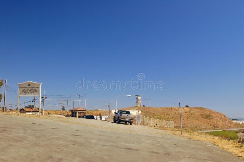 положение San Quentin тюрьмы Стоковая Фотография