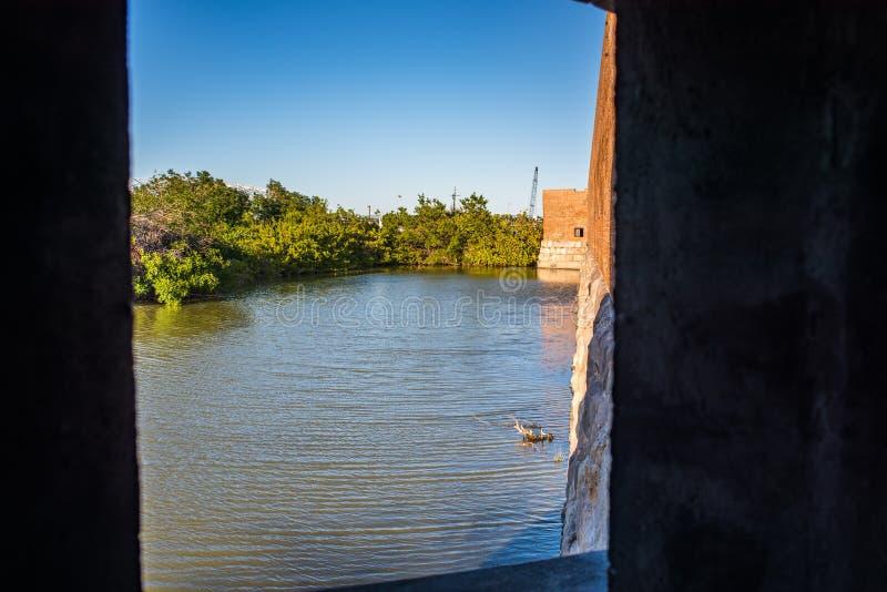 положение taylor zachary исторического парка форта стоковая фотография rf
