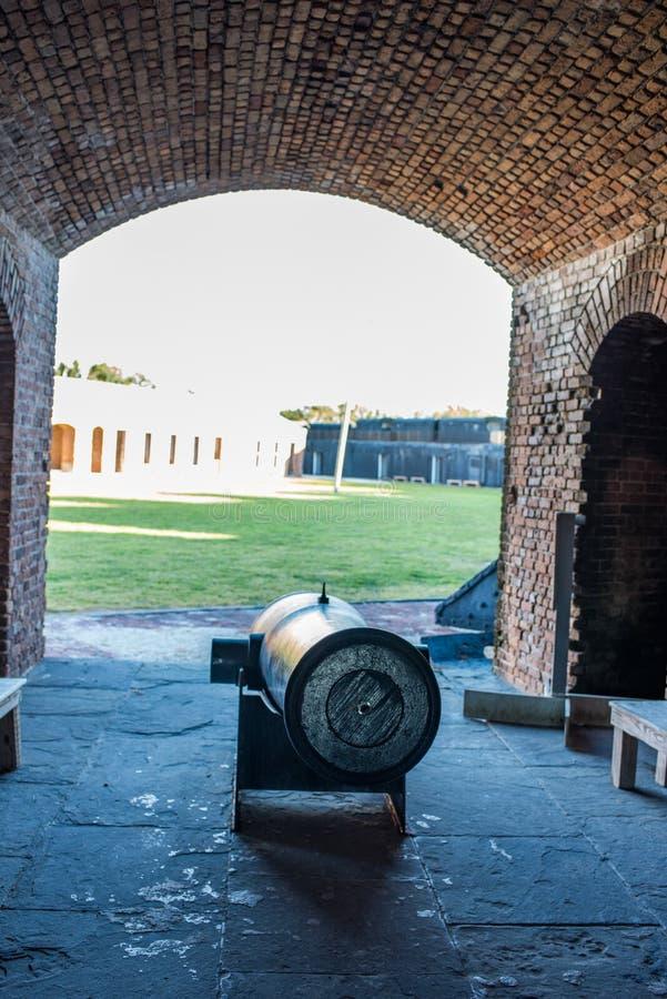 положение taylor zachary исторического парка форта стоковое изображение