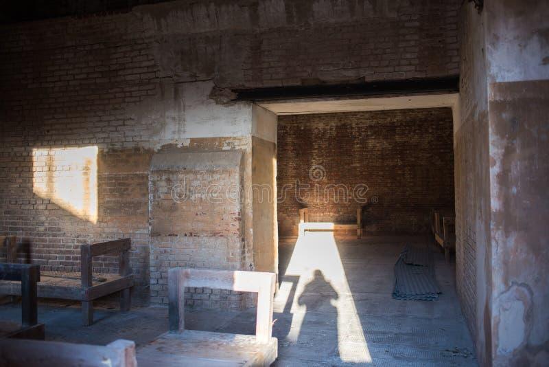 положение taylor zachary исторического парка форта стоковое фото