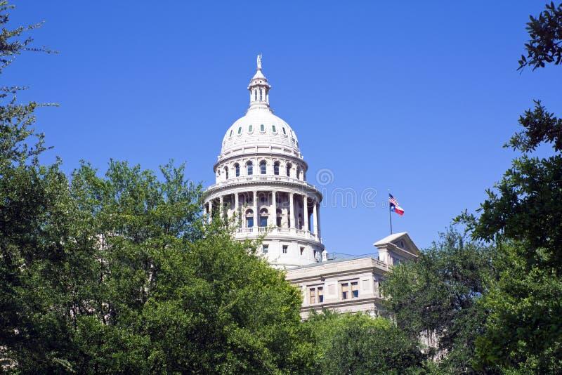 положение texas капитолия austin стоковые изображения