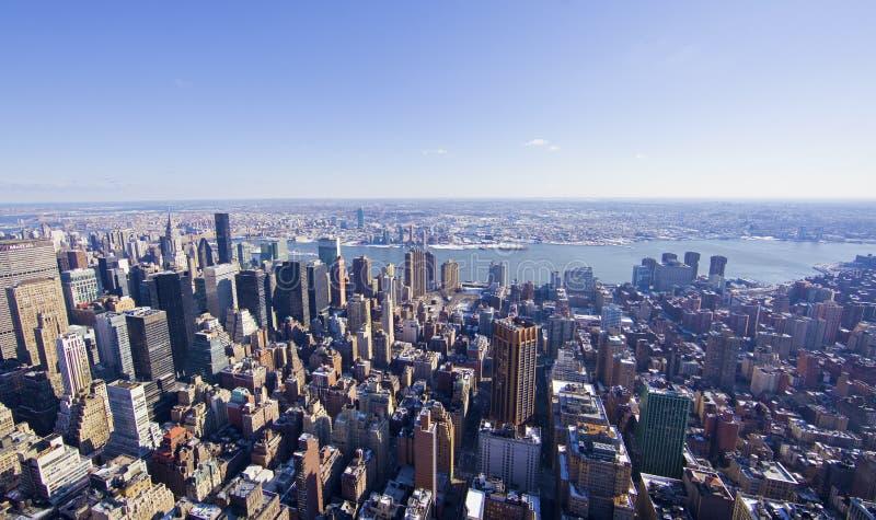 положение york панорамы империи города новое стоковые изображения rf