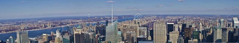 положение york панорамы империи города новое стоковая фотография