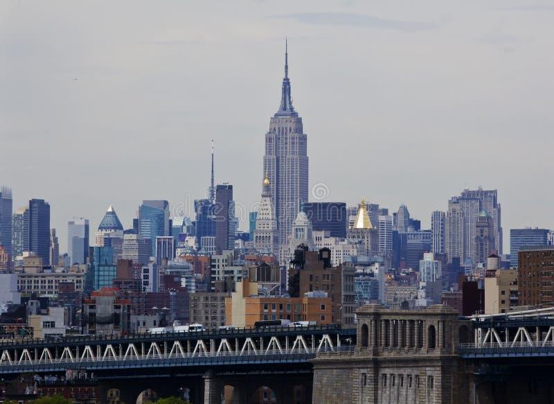 положение york съемки империи города здания новое стоковая фотография
