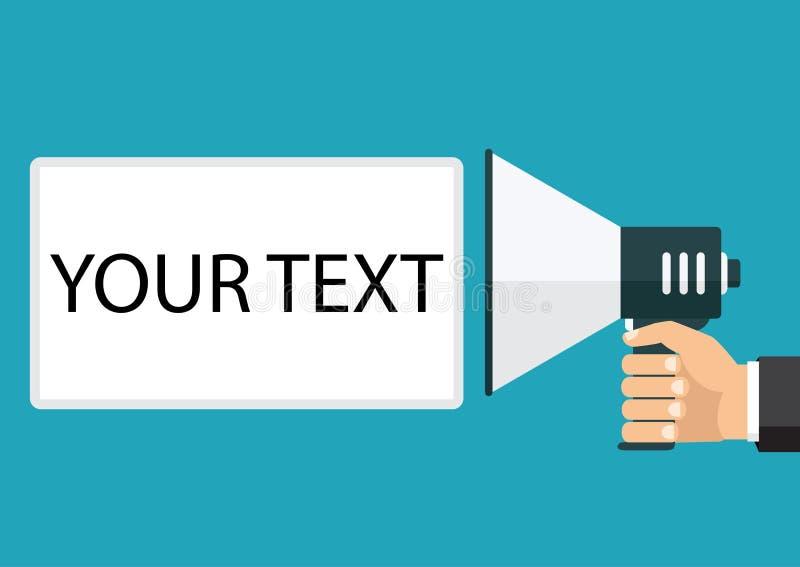 Положите ваш собственный текст здесь также вектор иллюстрации притяжки corel Справочная информация бесплатная иллюстрация