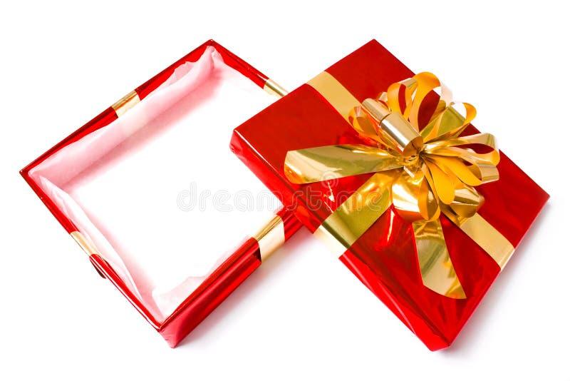 положите рождество в коробку стоковые фотографии rf