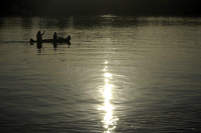 полоскать kayak стоковое фото rf