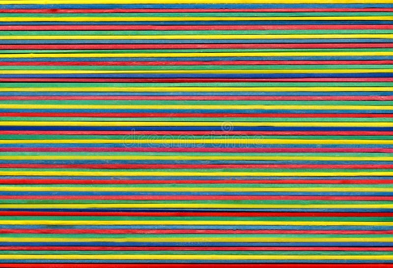 полосы красят эластик протягивано стоковое фото