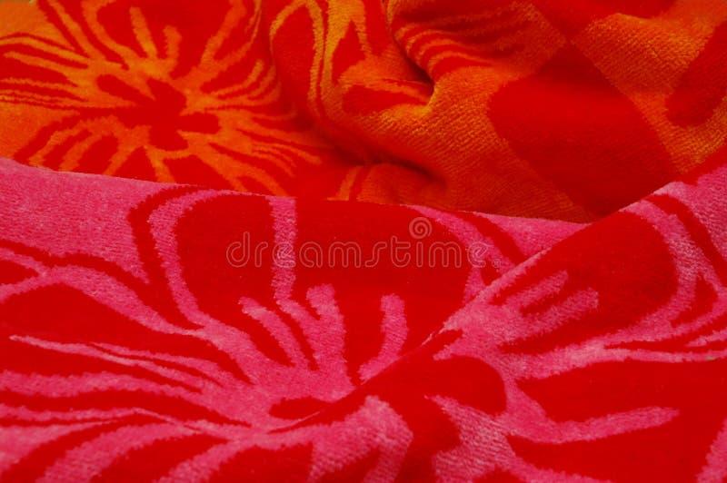 полотенце пляжа стоковые фото