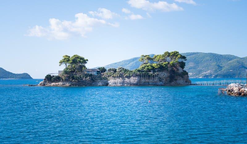 Полоть малую камею острова стоковые изображения