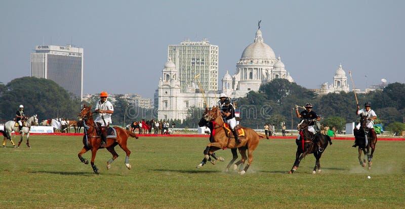 поло kolkata Индии игры стоковые фото