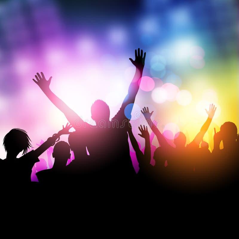 Полуночные люди партии бесплатная иллюстрация