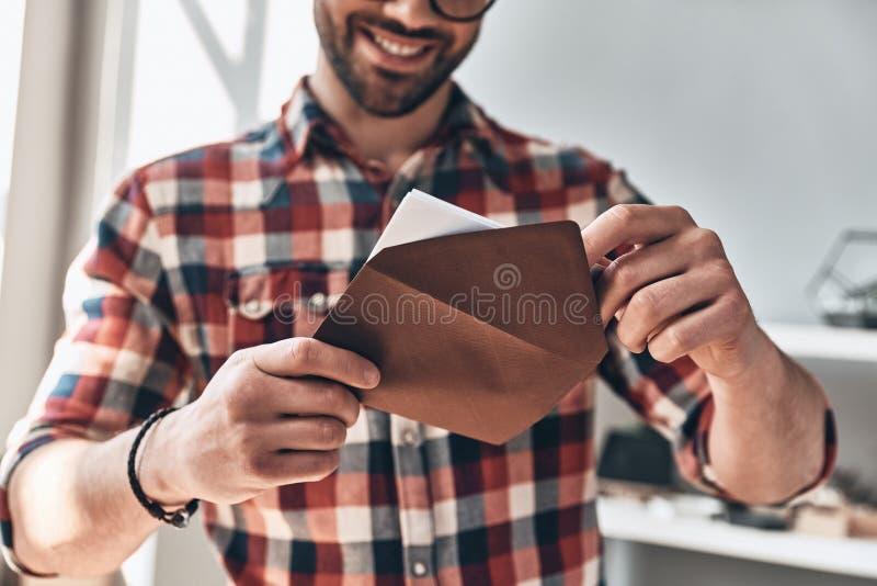 Получать поздравительную открытку стоковые фотографии rf