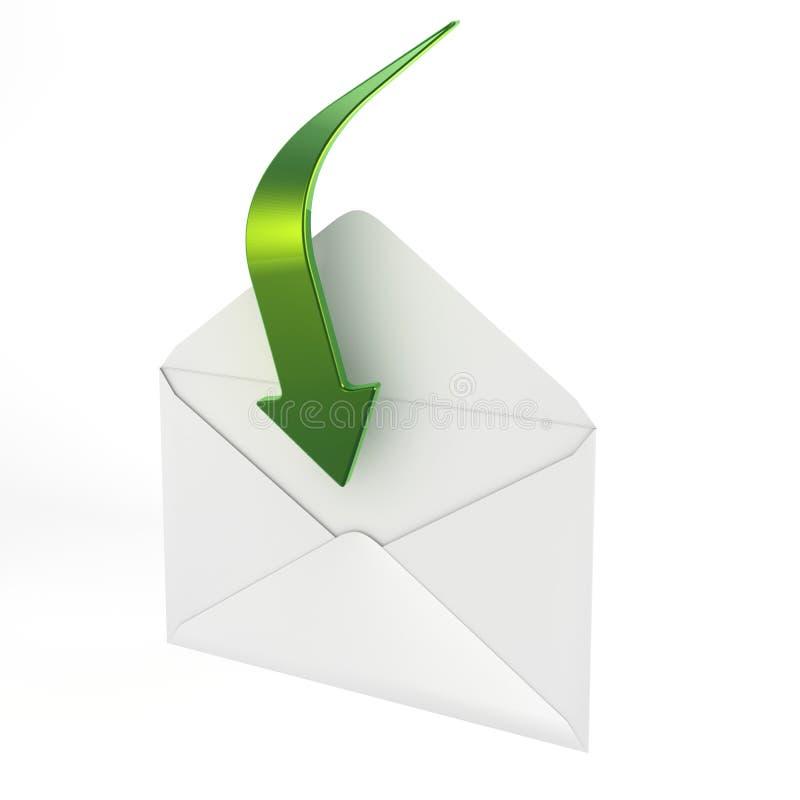 полученная почта ve вы бесплатная иллюстрация