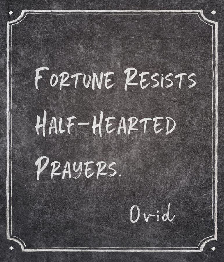 Полу-сердечная цитата Ovid стоковые фотографии rf