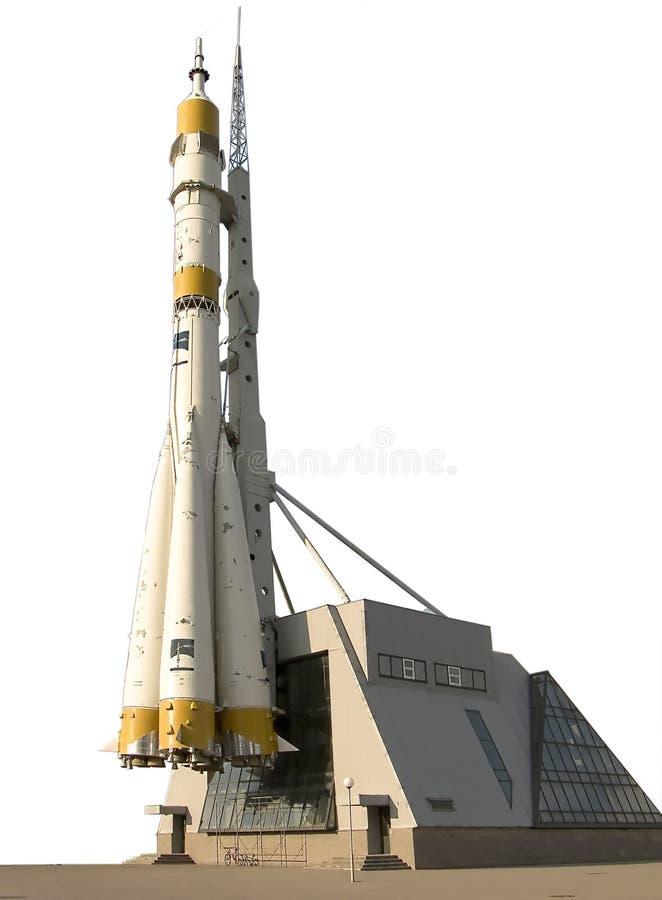польностью вися космос ракеты постамента высоты стоковое изображение rf