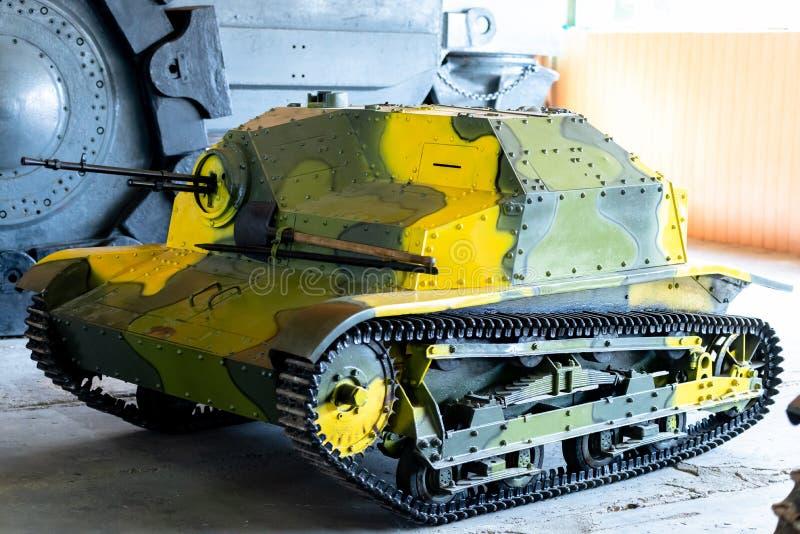Польский свет Panzer TKS стоковое фото rf