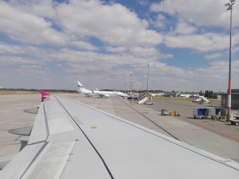 "Польша, ""PoznaÅ - аэропорт awica  Å в ""PoznaÅ стоковая фотография rf"