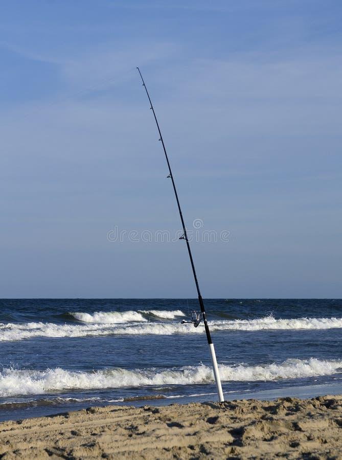 полюс пляжа удя стоковые изображения