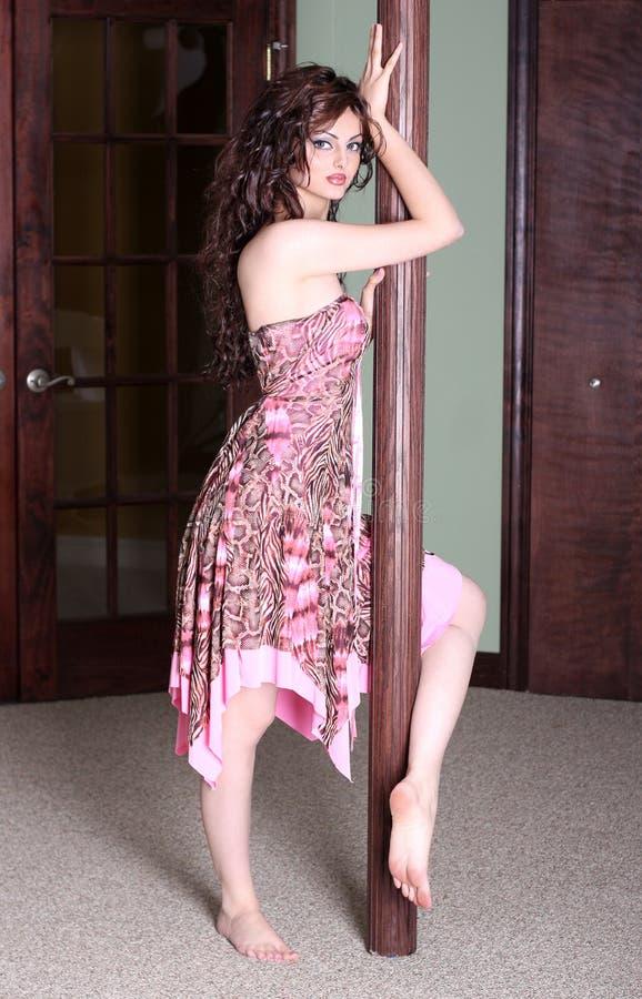 полюс танцульки стоковая фотография rf