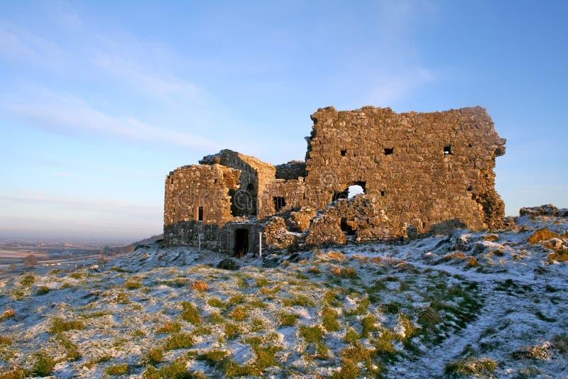 поля зеленая Ирландия стоковое фото rf