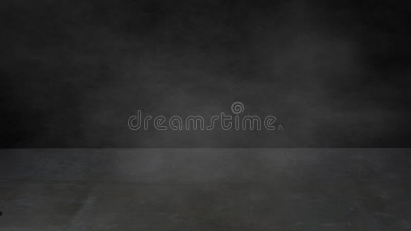 Пол абстрактного темного цемента конкретный с туманной предпосылкой нерезкости бесплатная иллюстрация