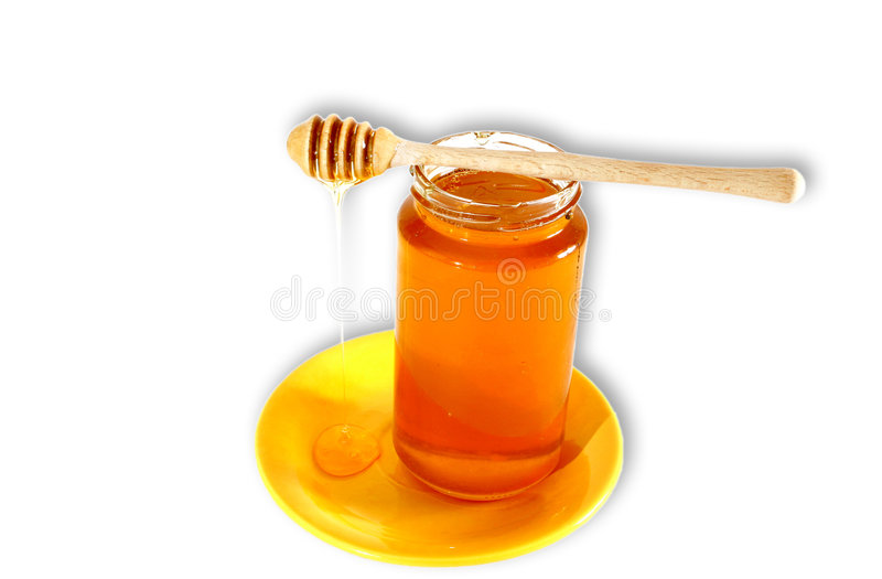 помадка меда стоковая фотография
