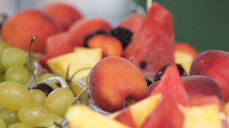 помадка свежих фруктов стоковая фотография