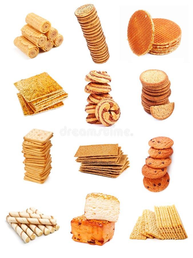 помадка собрания хлебопекарни стоковое изображение