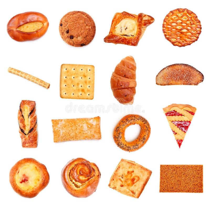 помадка собрания хлебопекарни стоковое фото