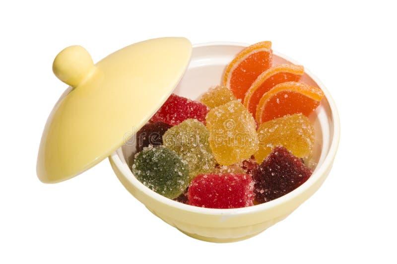 помадки затира плодоовощ конфет стоковая фотография
