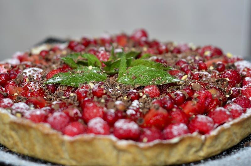 помадка поленики расстегая плодоовощей еды ягоды стоковые изображения