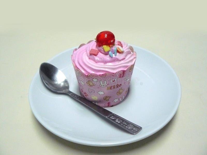 Помадка торта стоковая фотография rf
