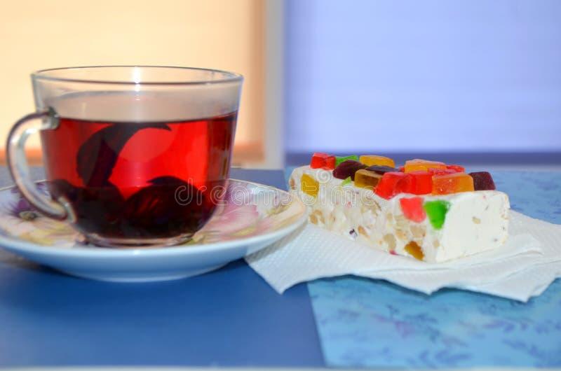 Помадки чая, красных и восточных стоковое изображение
