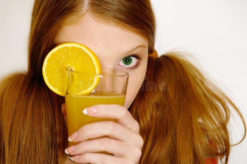 помеец девушки redheaded стоковые фото