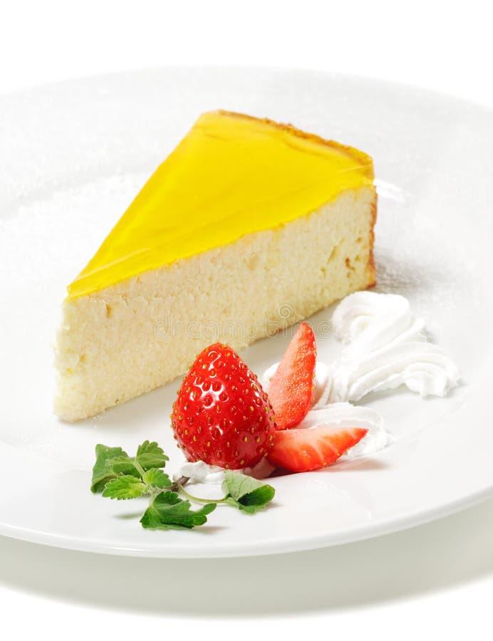 помеец десерта cheesecake стоковые изображения rf