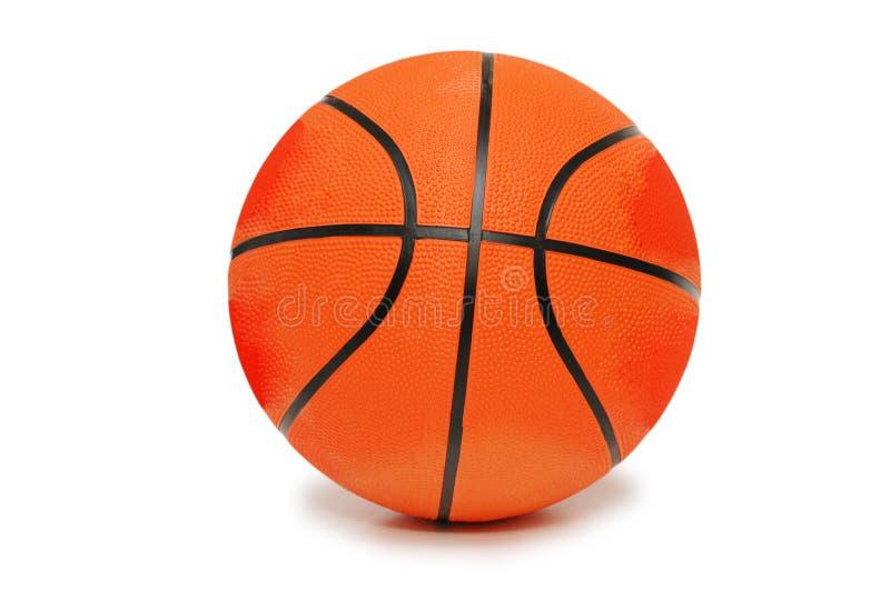 помеец изолированный баскетболом стоковые изображения