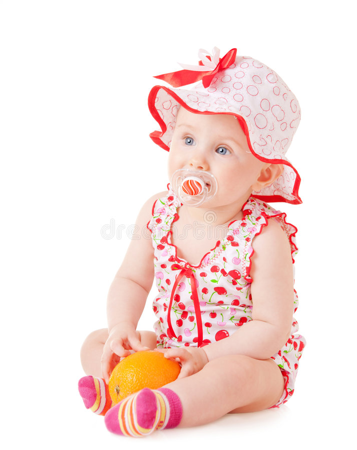 помеец младенца стоковая фотография rf