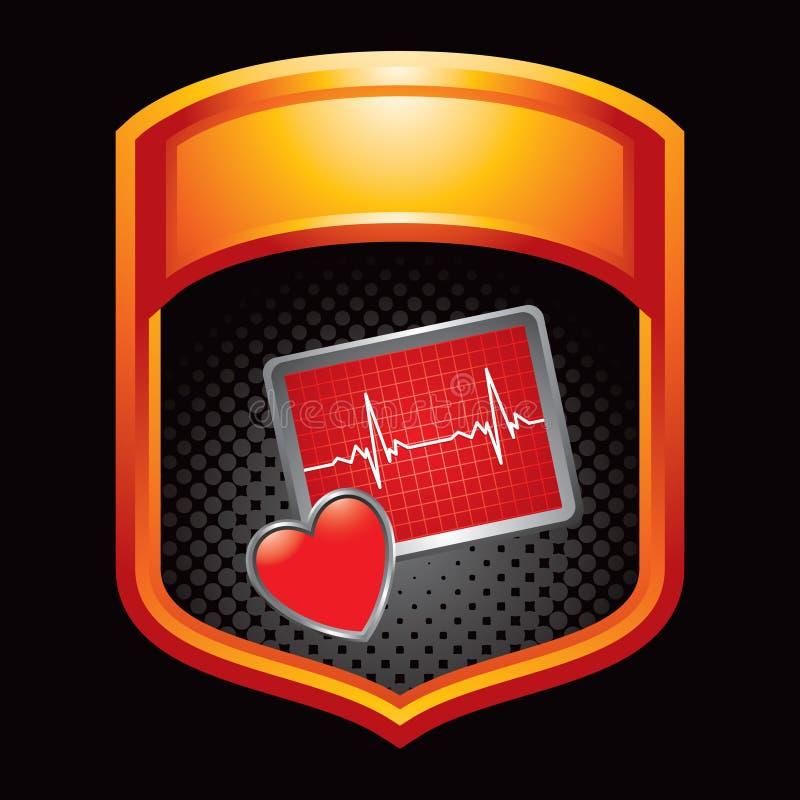 помеец монитора иконы сердца дисплея бесплатная иллюстрация