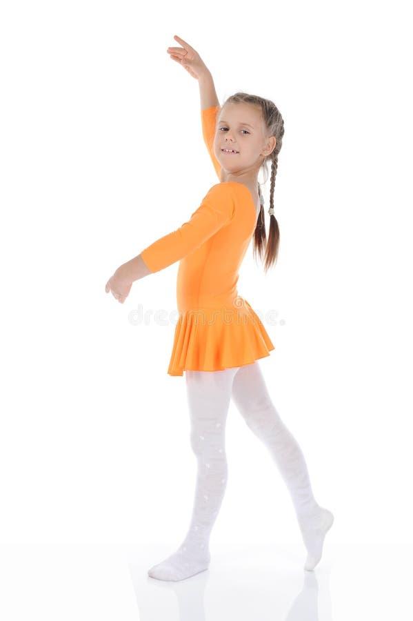 помеец платья танцы балерины красивейший стоковое фото rf
