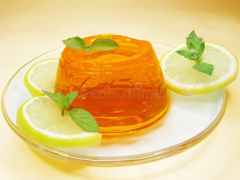 помеец студня десерта стоковое фото rf