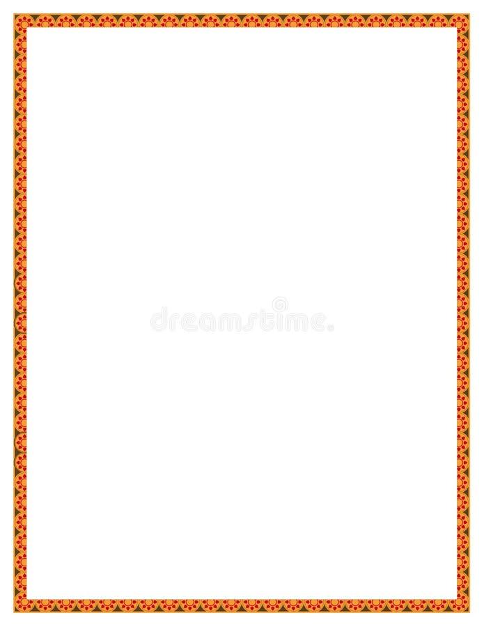 помеец цветка граници бесплатная иллюстрация