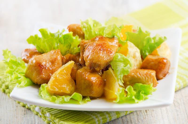помеец цыпленка стоковая фотография rf