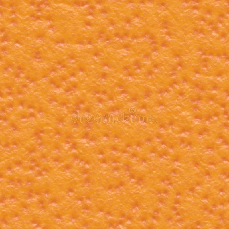 померанцовая безшовная текстура кожи иллюстрация вектора